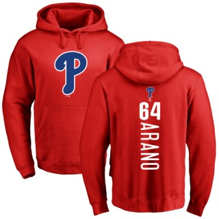 Youth Victor Arano Philadelphia Phillies Red Backer Pullover Hoodie